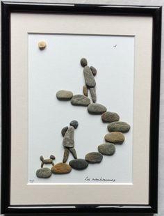 Natural Pebbles Art Frames