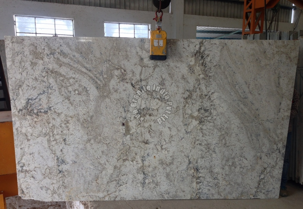 Shell White Light Texture Granite Slab Suppliers Tamil Nadu