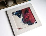Concrete Photo Frame 05