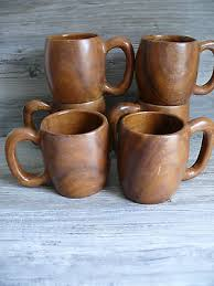 Wooden Mug 03