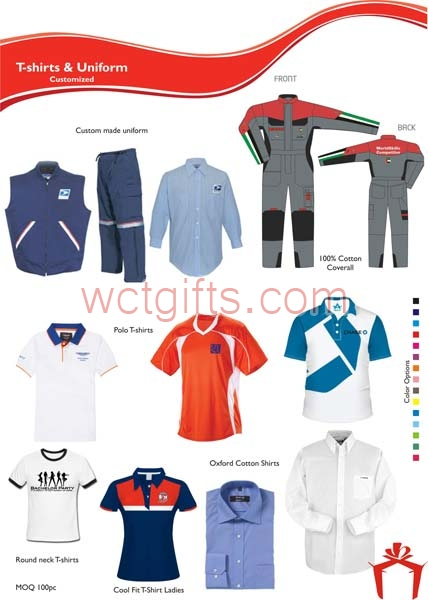 T-Shirts & Uniforms