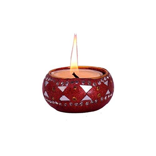 Lac Handicraft Tea Light Holder 01