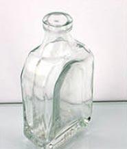 Plain Glass Oil Bottles