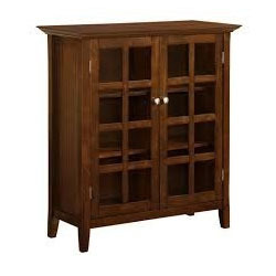 Dark Brown Wooden Cupboard