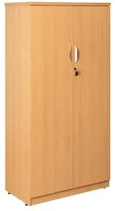 Light Brown Wooden Cupboard