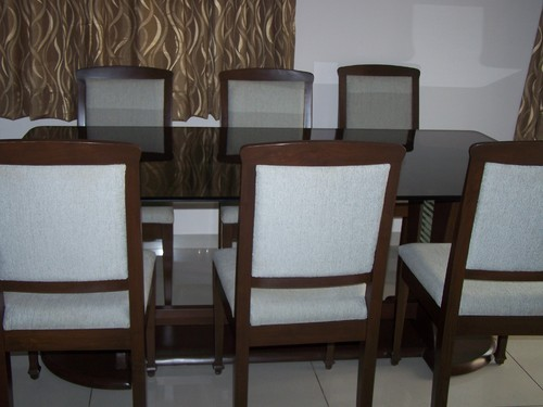 Wooden Dining Table Set 01