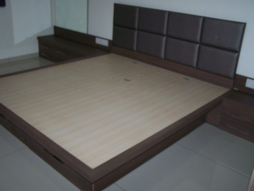 Wooden Double Bed 04