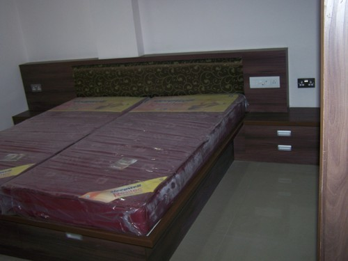 Wooden Double Bed 05
