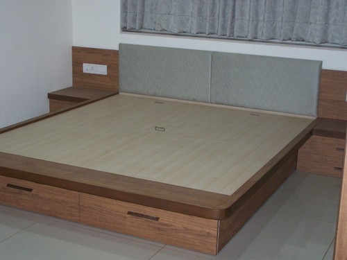 Wooden Double Bed 06
