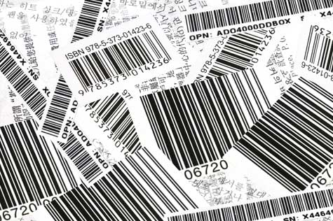 Barcode Label 01