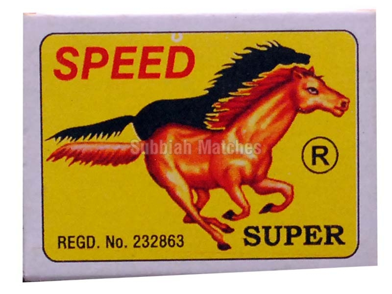 SPEED Wooden Safety Matches