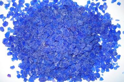 Blue Silica Gel Crystals