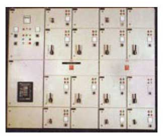 Capacitor Control Panel