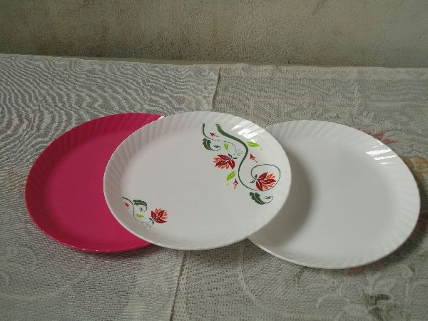 10.5 Inch Plastic Plates