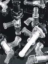 Borosilicate Glass Valves