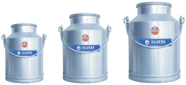 Aluminium Milk Jars