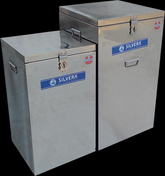Stainless Steel Square Containers