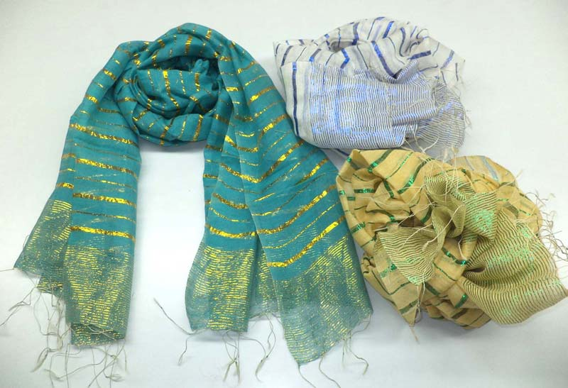 Ladies Blended Silk Scarves