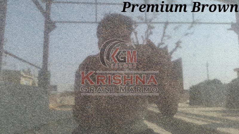 Premium Brown Granite Stone