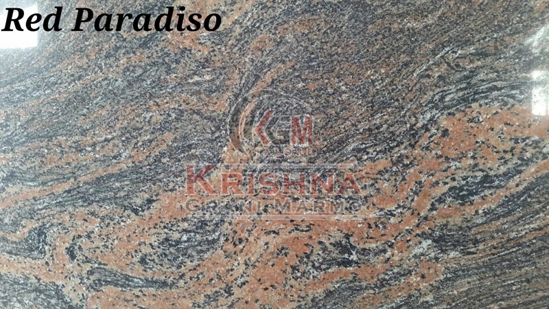 Red Paradiso Granite Stone