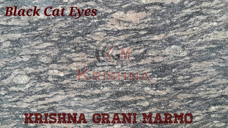 Black Cat Eyes Granite Stone