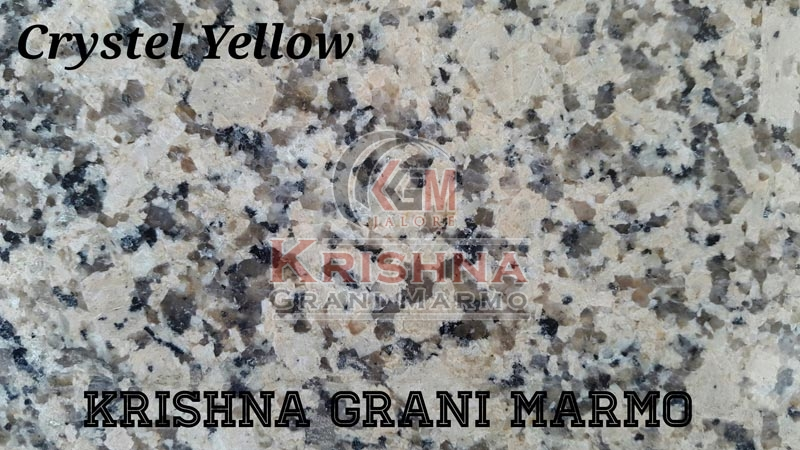 Crystel Yellow Granite Stone