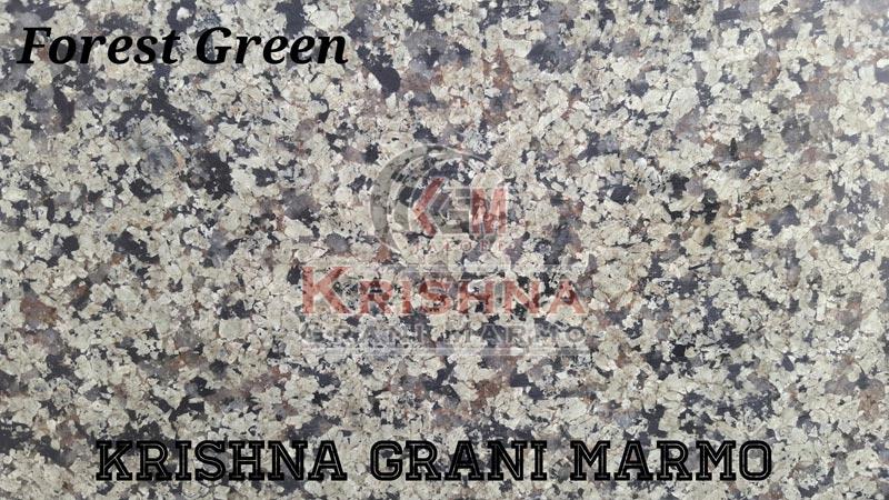 Forest Green Granite Stone