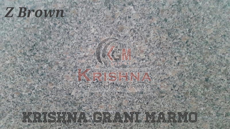Z Brown Granite Stone