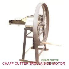 Motor Operated 3 Roller Chaff Cutter 01