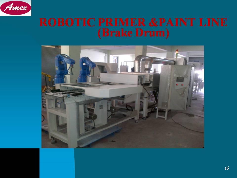 Robotic Paint Line