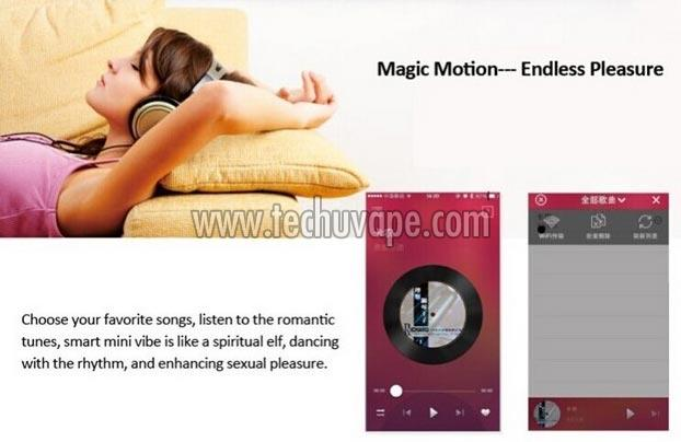 Magic motion sex products smart vibe