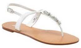 Ladies Leather Flat Sandals