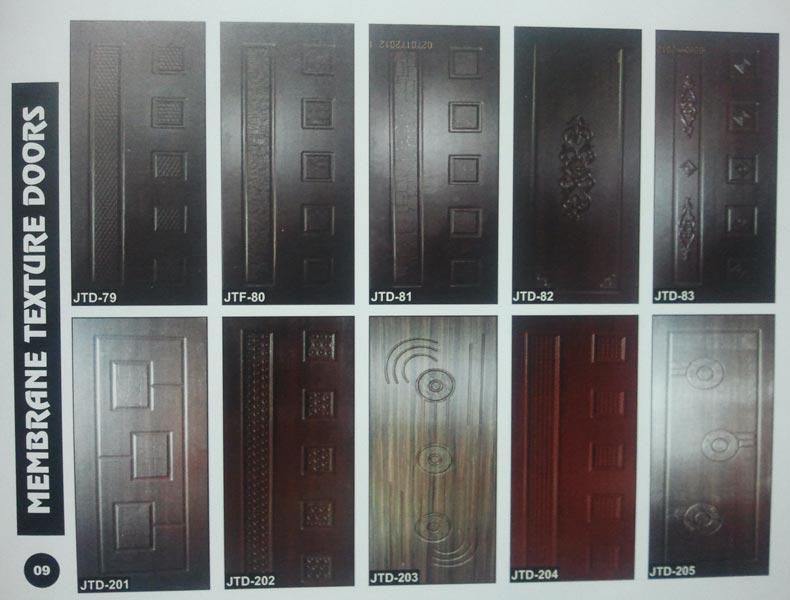 Membrane Texture Doors