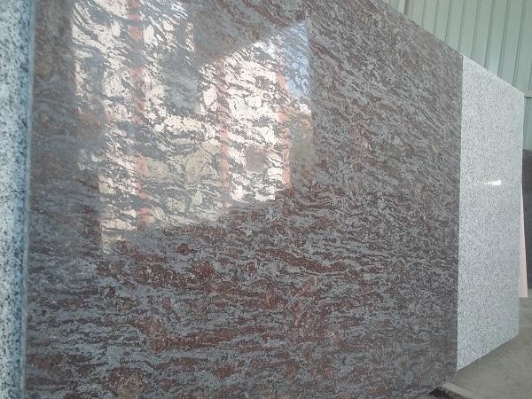 Brazil brown Lappato Finish Granite Slab