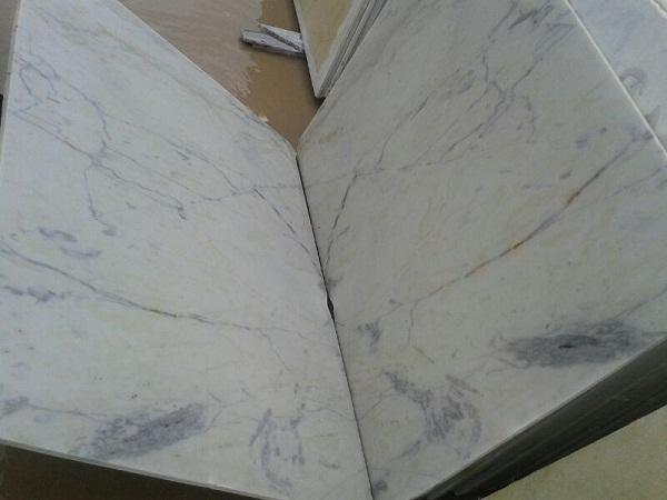 Indo White Marble Slab