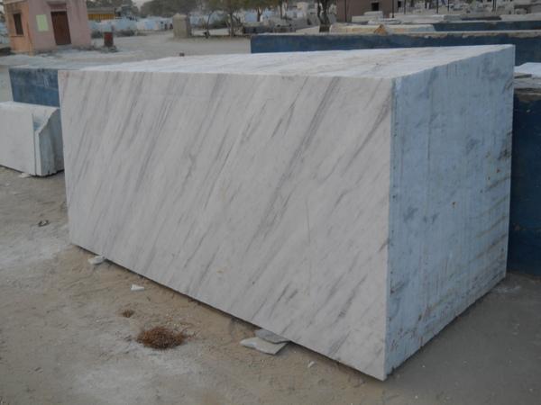 Jhanjhar White Marble Slab