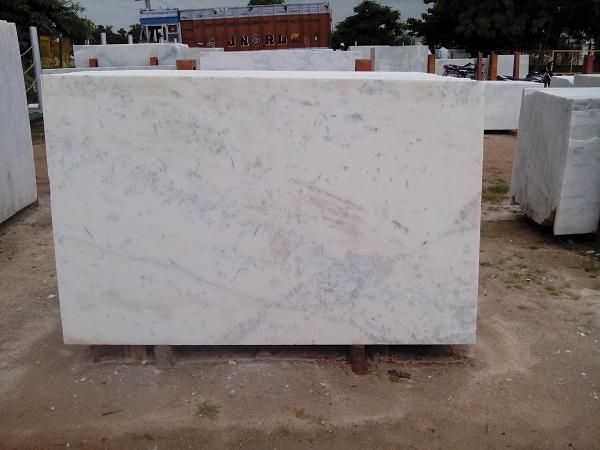 Pista White Marble Slab