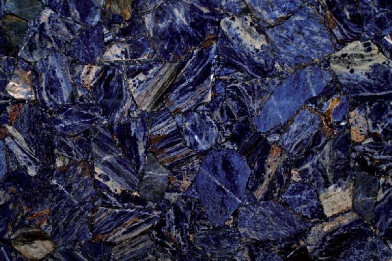 Semi Precous Sodalite Slab 01