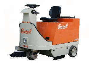 Battery Sweeper for Malls