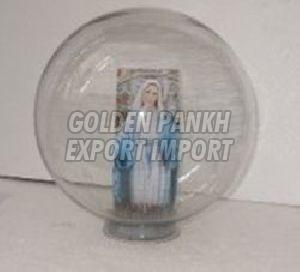 Cloche with Nail Base/Display Stand 02