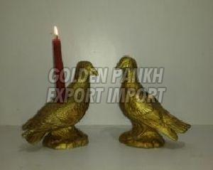 Handmade Bird Candle Holder