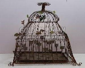 Handmade Candle Holders Cage