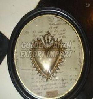 Handmade Metal Milagro Hearts Frame
