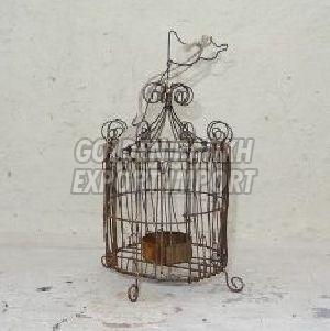 Handmade Wirework Tealight Cage 02