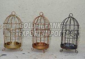Handmade Wirework Tealight Cage 03