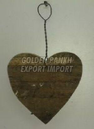 Handmade Wooden Heart Ornament