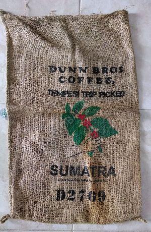 Cocoa Beans Burlap Bag 06