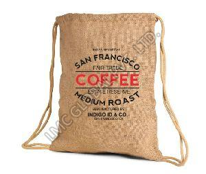 Coffee Bean Jute Bag 06