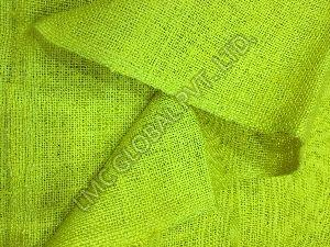 Dyed Jute Burlap Fabric 05
