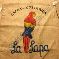 Cheap 100 % JUTE Biodegradable burlap coffee bags